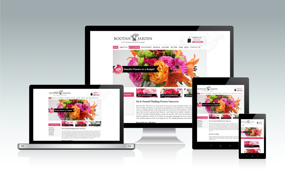 Responsive Website Layout 2